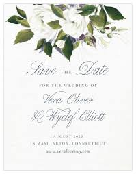 Save The Date No Photo No Photo Save The Date Cards Match Your Color Style Free