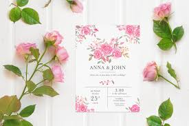 Free Wedding Invitation Card Mockup Creativetacos