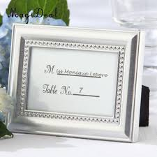 2019 magideal small vintage 2 8 1 inch photo frame style place name card wedding table card holder silver gold great gifts from asite 26 06 dhgate com