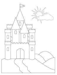 disney castle coloring pages for s coloring pages for