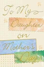 Mother Day Card To My Daughter Mothers Day Card African American Gre Knowledge