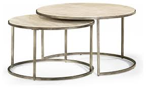 round nesting coffee tables modern basics by hammary modern coffee tables nesting coffee table round