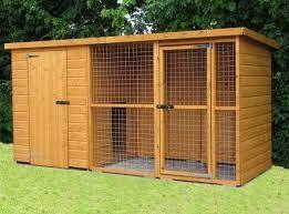 20 best outdoor dog kennel ideas 18