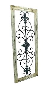 wood and iron wall art wrought iron wall art metal wall art distressed tan frame wrought wood and iron wall art  on iron and wood panel wall art in white with wood and iron wall art rustic iron wall decor wood and iron wall art