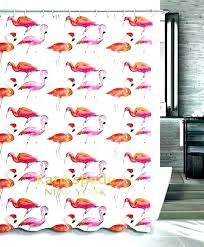 spade shower curtain curtains new design pink flamingo kate canada sp