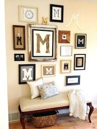strikingly design initial wall decor interior ideas letter initials best on crafts and rustic letters monogram