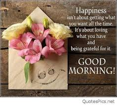 Happy Good Morning Quotes Best of Happy Good Morning