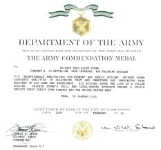 Military Certificate Templates template Military Award Certificate Template Army Of Training Pin 30