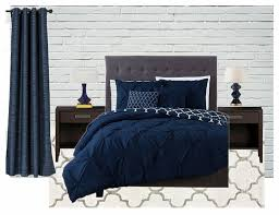 Navy Bedroom Master Bedroom Inspiration Navy Blue And Gray The Handymans