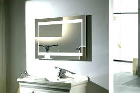 Illuminated cabinets modern bathroom mirrors Backlit Backlit Bathroom Mirror Bathroom Mirror Wall Mirrors Bathroom Wall Mirrors Bathrooms Bathroom Mirror Illuminated Steam Free Backlit Bathroom Mirror Luxe Modern Bath Backlit Bathroom Mirror Bathroom Mirror Furniture Pertaining To