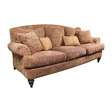 Paisley Sofa 85 off ethan allen ethan allen paisley sofa with toss pillows 7879 by xevi.us
