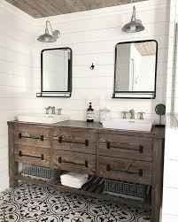 this beautiful bath vanity is diy