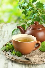 Small Picture Herbal Tea Garden Plans for Stress Colds Flus and More