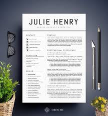 Modern Resume Sheet Templates Modern Resume Template Cv Template Cover Letter Professional