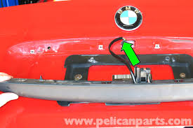 bmw e46 trunk release button replacement bmw 325i 2001 2005 large image