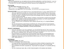 Resume Blank Format Pdf Student Template Ieee For Freshers Unusual