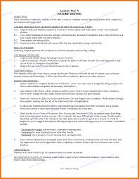 Resume Objective Examples For Students Study Objectives Dow