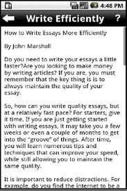 how to write an essay apk education app for   how to write an essay apk screenshot