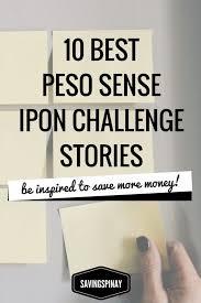 Ipon Challenge Chart 10 Best Peso Sense Ipon Challenge Stories Savingspinay