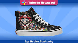 vans nintendo shoes. vans releasing mario bros. shoe line | the nintendo newscast minisode - youtube vans shoes