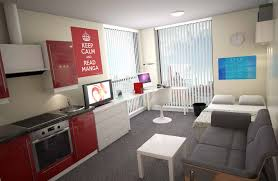 One Room Living A Student Room With The Combination Of All Bedroom Living Room And