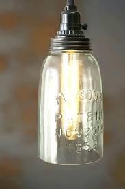 mason jar pendant light beautiful rustic half gallon open bottom lamp pottery barn jars 2 for