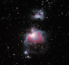 orion nebula with barndoor tracker