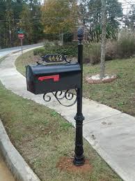 custom mailbox. Mailbox Installation In Atlanta Custom