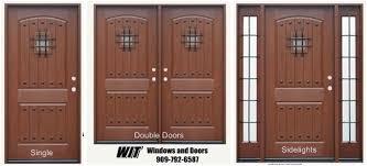 front door with speakeasy wit windows and doors redlands southern california