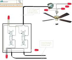 ceiling fan wall switch to wiring without hunter parts electroni