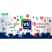 Microsoft office 365 is an office suite developed by microsoft and released on 28 june 2011. Office 365 Vs G Suite Comparison Chart For Business Infographic