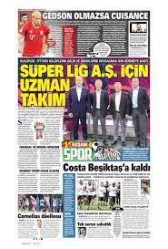 Sporun Manşetleri (18 Temmuz 2021)
