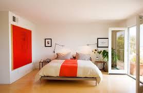 orange bedroom colors. View In Gallery A Splash Of Orange The Bedroom Colors T