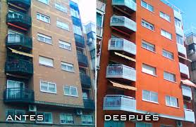 Resultado de imagen para fotos de rehabilitacion de fachadas