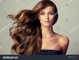 Hair Style Girl brunette girl long shiny wavy hair stock photo 457580683 5145 by wearticles.com