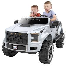 Power Wheels Ford F-150 Raptor Extreme with Lifted Body | Little ...