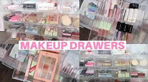 whats in my makeup drawers