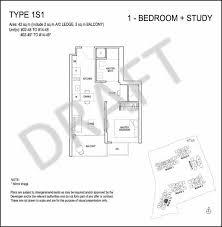 Floor Plan 2 BEDROOM Plus Study Range Style 190 M2  Granny Flats Floor Plan Plus