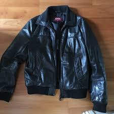 redwing leather jacket pilot style