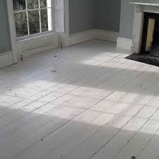 painting laminate wood floors with the natural vintage white
