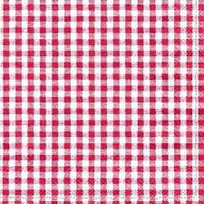 red gingham tablecloth round 60 s