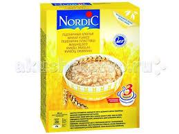 Безмолочная каша <b>Пшеничные хлопья</b> 600 г <b>Nordic</b> — купить в ...