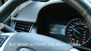 2011 Ford Edge Hazard Lights Fuse Turn Signal Module Malfunction 2011 Ford Edge
