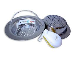 hydrolift easy handle kitchen sink strainer get stainless steel baskets strainers and free cleaning inch base