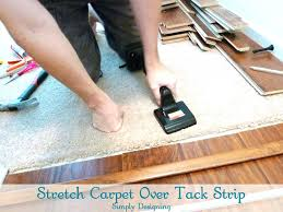 photo 6 of how to install floating laminate wood flooring part 3 the delightful laying carpet over tile transition layi