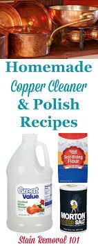 Homemade Copper Cleaner & Polish Recipes