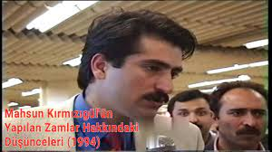 Mahsun Kırmızıgül'ün 1994 Yılında Yapılan Zamlar Hakkındaki Görüşleri -  Avrupa Turnesi (1994) - YouTube
