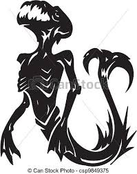sea monster illustration. Contemporary Sea Sea Monster  Vector Illustration VinylReady With Illustration