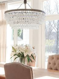 if you want a beautiful drop down chandelier this is it the pottery barn