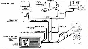 msd 6al tach more information msd 6al tach wiring diagram on chevy hei ignition wiring diagram